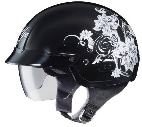 HJC IS-2 Blossom Motorcycle Half-Helmet MC-5 Small