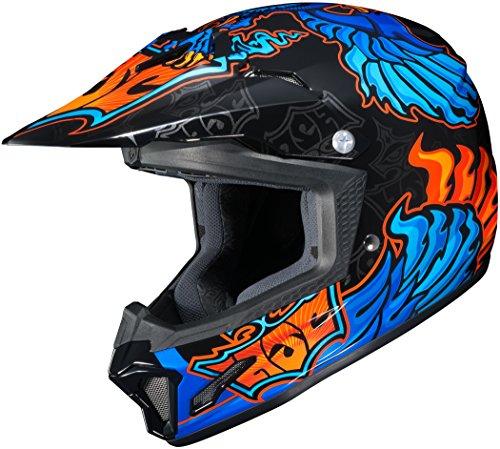 HJC XF-10-0865-1002-56 CL-XY II Eye Fly Youth Helmet Distinct Name MC-2 Gender Boys Helmet Category Offroad Helmet Type Offroad Helmets Primary Color Blue Size Lg Size Segment Youth