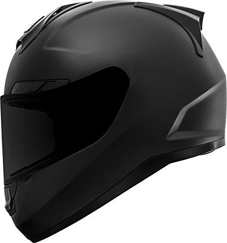 GDM Duke Helmets DK-346 Full Face Motorcycle Helmet Matte Black Large