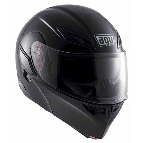 AGV Numo Modular Motorcycle Helmet Black Large