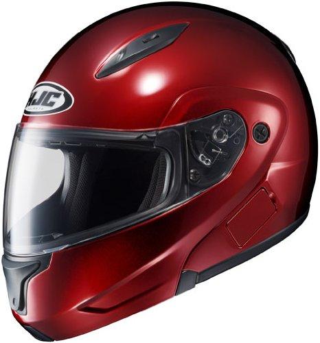 HJC CL-Max 2 Modular Motorcycle Helmet Wine Small S