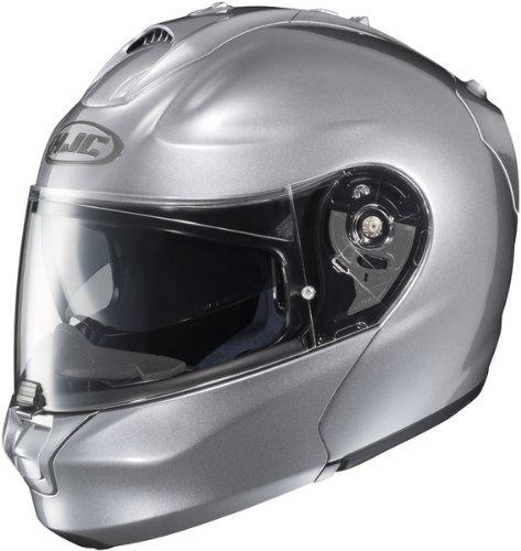 HJC RPHA-MAX Align Modular Motorcycle Helmet Silver Large