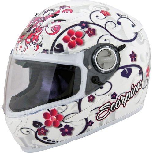 Scorpion Dahlia 2 EXO-500 On-Road Motorcycle Helmet - White  X-Small