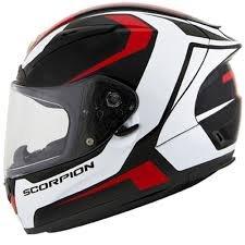 Scorpion Dispatch EXO-R2000 Street Bike Racing Motorcycle Helmet - Red  X-Large