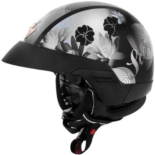 Scorpion EXO-100 Lilly Black Half Helmet - 2X-Large