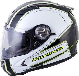 Scorpion EXO-1100 Sixty-Six White Full Face Helmet - Large