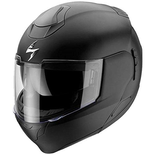 Scorpion EXO-900 Solid Matte Black Full Face Transformer Helmet - X-Small