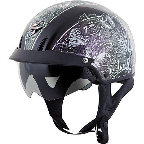 Scorpion EXO-C110 Mariposa Silver Half Helmet - 2X-Large