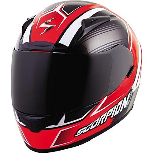 Scorpion EXO-R2000 Launch Neon Red Full Face Helmet - Medium