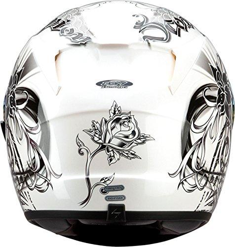 Scorpion EXO-R410 Orchid White Full Face Helmet - Large
