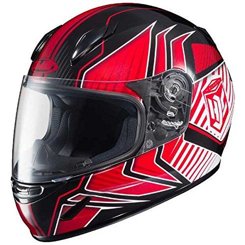HJC CL-Y Redline Youth Motorcycle Helmet RedBlack SM