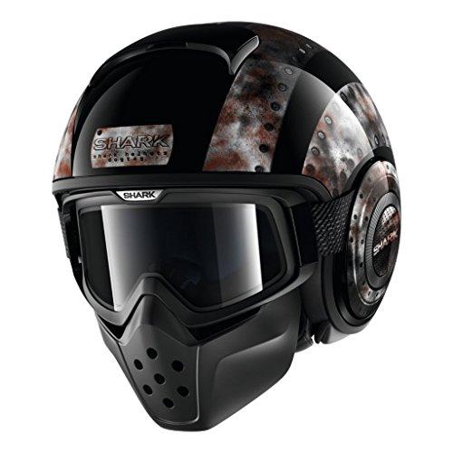 SHARK Helmets DRAK Dogtag - Black  Chrome - L