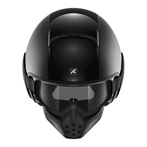 SHARK Helmets DRAK Dual Black - Matte  Glossy Black - M