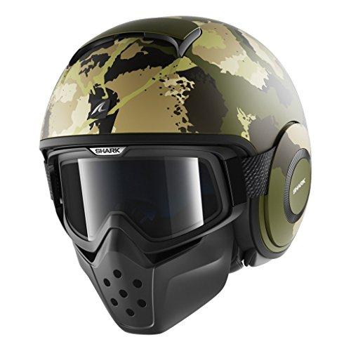 SHARK Helmets DRAK Kurtz Matte - Green Camo - M
