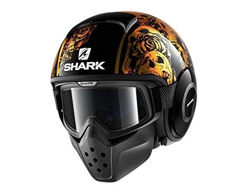 Shark Helmets DRAK Sanctus - CHROMEORANGE  BLACK - M