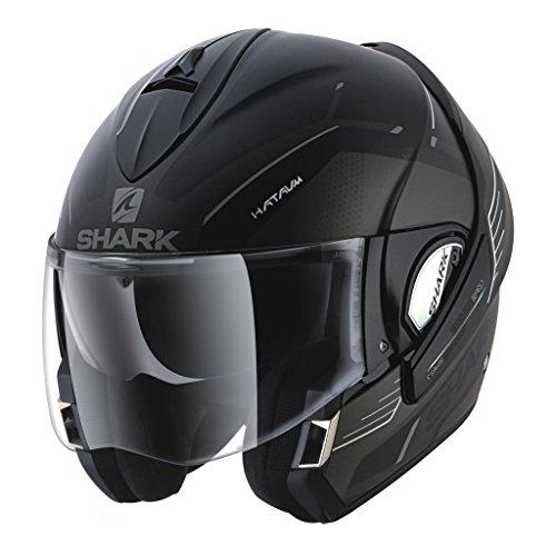 Shark Helmets EVOLINE SERIES 3 Hataum Matte - BLACK  GREY - XL