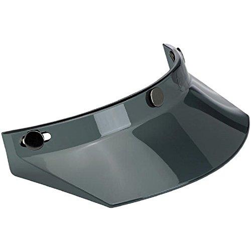 Biltwell Smoke 3-Snap Moto Helmet Visor MV-SMK-00-TN