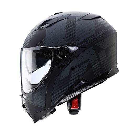 Caberg Stunt Blizzard Matt BlkAnth Motorcycle Helmet