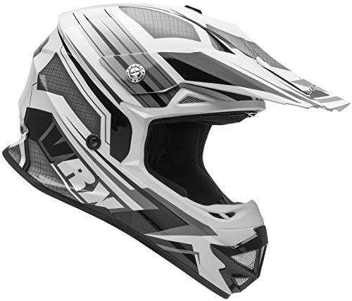Vega Helmets VRX Advanced Dirt Bike Helmet – Off-Road Full Face Helmet for Motocross ATV MX Enduro Quad Sport 5 Year Warranty Black Venom Graphic Medium