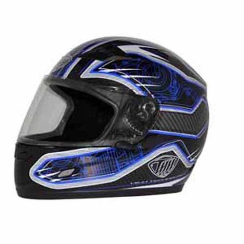 THH Helmet TS-39 Helmet BlueBlackWhite Small