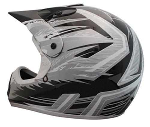 THH Helmet TX-10 Youth Helmet BlackGray Large