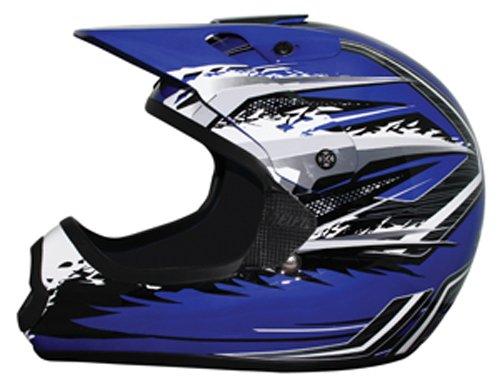 THH Helmet TX-10 Youth Helmet BlueGray Large