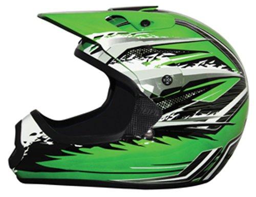THH Helmet TX-10 Youth Helmet GreenGray Large