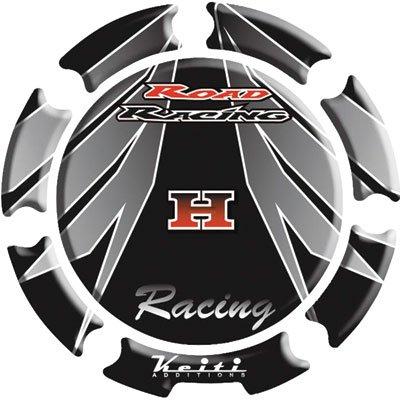 Keiti Gas Cap Protector Honda Black for Honda CBR600F2 1991-1994