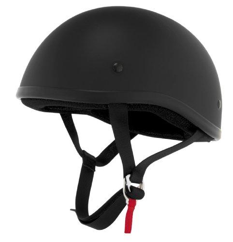 Skid Lid Helmets Original Solid Helmet  Size Sm Primary Color Black Helmet Category Street Distinct Name Flat Black Helmet Type Half Helmets Gender MensUnisex XF64-6631