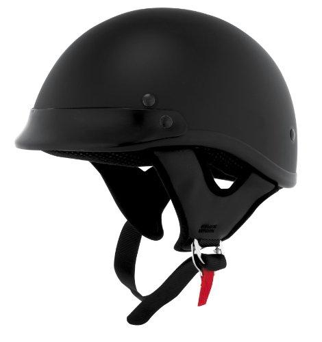 Skid Lid Helmets Traditional Solid Helmet  Size XS Primary Color Black Helmet Category Street Distinct Name Flat Black Helmet Type Half Helmets Gender MensUnisex XF64-6820
