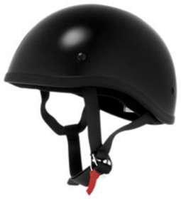 Skid Lid Naked Shorty Black Helmet 2XL
