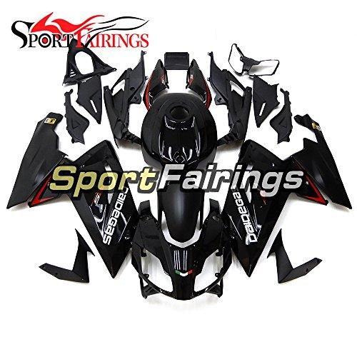 SportFairings ABS Plastics Injection Motorcycle Fairing Kits For Aprilia RS4 125 RS125 Year 2006 - 2011 Bodywork Black Cowling