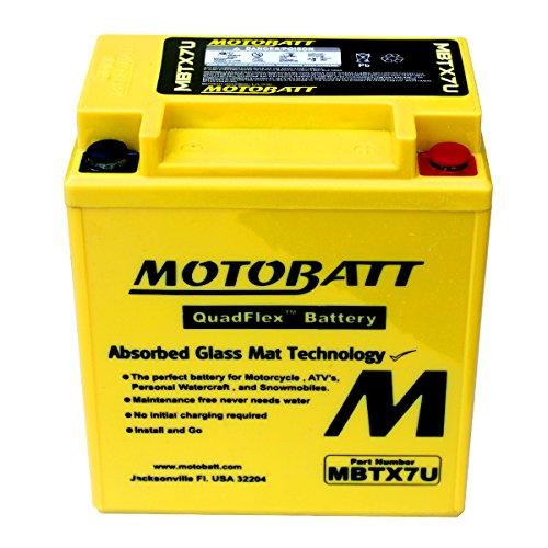 New AGM Battery Replacement For Yamaha XT125X Supermotard YBR125 YBR250 YS250 Fazer Motorcycle