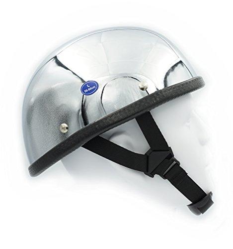 Hot Rides Classic Chopper Biker Motorcycle Helmet Novelty For Cruiser Harley Scooter ATV Eagle Chrome X-Large