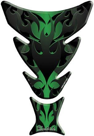 Keiti Tank Protector - Subtle Flame Green