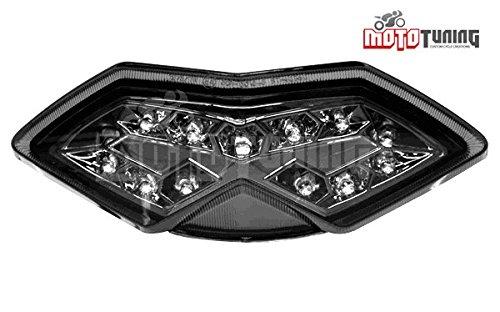 08 09 10 KAWASAKI NINJA Z1000 VERSYS 650 Clear Integrated LED Taillight