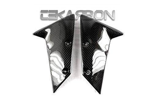 2004 - 2007 Kawasaki ZX10R  05 - 08 ZX6R Carbon Fiber Front Fender Arm - Twill