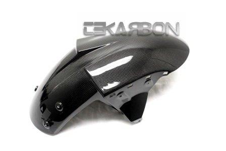 2004 - 2007 Kawasaki ZX10R  05 - 08 ZX6R Carbon Fiber Front Fender Center