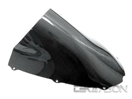 2005 - 2006 Kawasaki ZX6R Carbon Fiber Windscreen