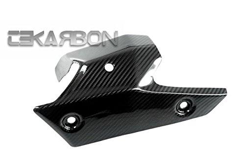 2013 - 2016 Kawasaki ZX6R Carbon Fiber Exhaust Heat Shield