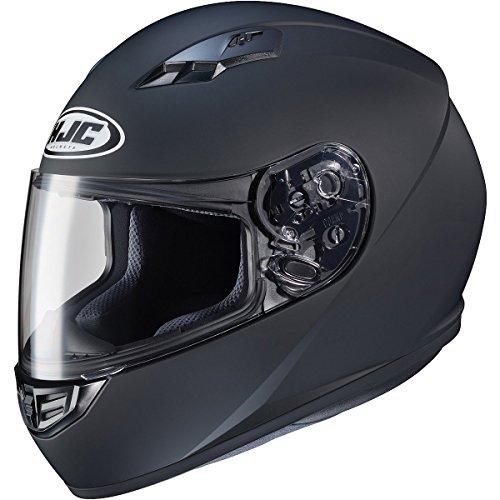 HJC Solid Adult CS-R3 Street Motorcycle Helmet - Matte Black  Large