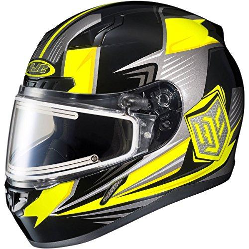HJC Striker Electric Frameless Shield CL-17 Mens Snow Racing Snowmobile Helmet - MC-3H X-Large