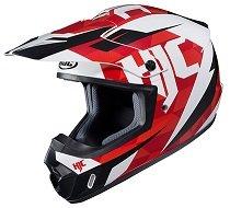 HJC Unisex-Adult Off Road CS-MX II Dakota Helmet MC-1 Large