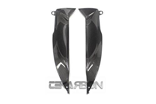 2009 - 2015 Suzuki GSXR 1000 Carbon Fiber Side Tank Panels - twill