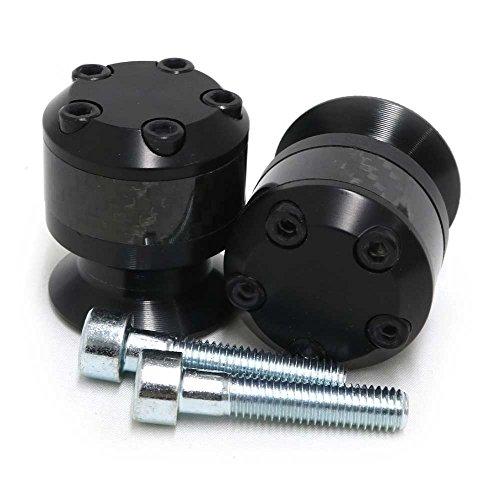 Honda - Suzuki Carbon Fiber Swingarm Spools - Carbon Fiber - Sliders - 710-0309 - MADE IN THE USA