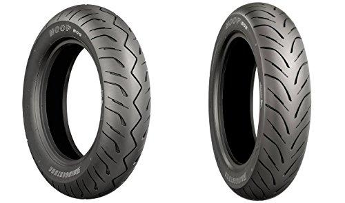 BRIDGESTONE OE Hoop Front Rear Tire Set 12080-14 63P 15070-13 64S for SUZUKI Burgman 400 2007-2016