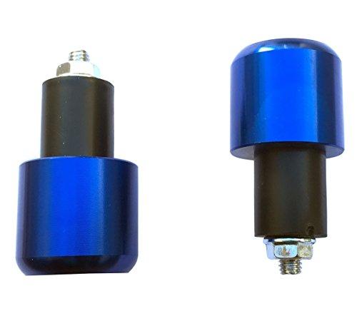 Blue 78 22mm Handle Bar End Weights Plugs Grips Cap Sliders for 2007 Suzuki Burgman 400