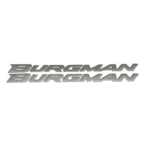 PRO-KODASKIN Motorcycle 3D Raise Burgman Stickers Decals Emblem for Suzuki Burgman AN125 AN200 AN400 AN650 2002-2011 Titanium
