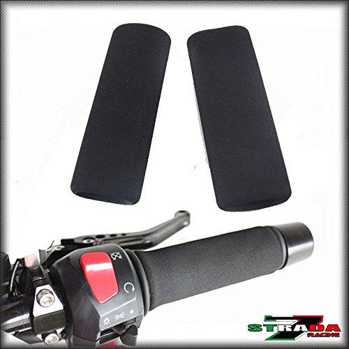 Strada 7 Motorcycle Comfort Grip Covers - Suzuki Burgman 400 650 AN250 AN650