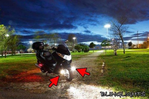 Suzuki Burgman 400 AN400 Xenon Driving Lights Fog Lamps Drivinglights Foglights Foglamps Kit